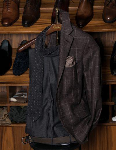 Belvest Brown Windowpane jacket - 15.200 SEK