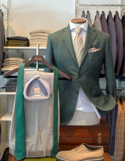 Green-jacket linen wool and silk 17.900 SEK
