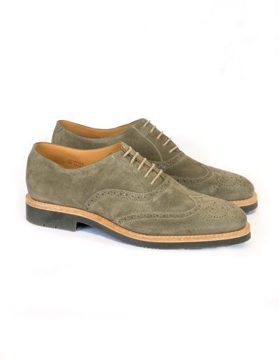 Green Suede Oxfords 4.900 SEK