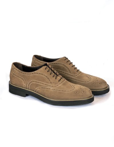 Lt Brown Suede Oxford 4.440 SEK