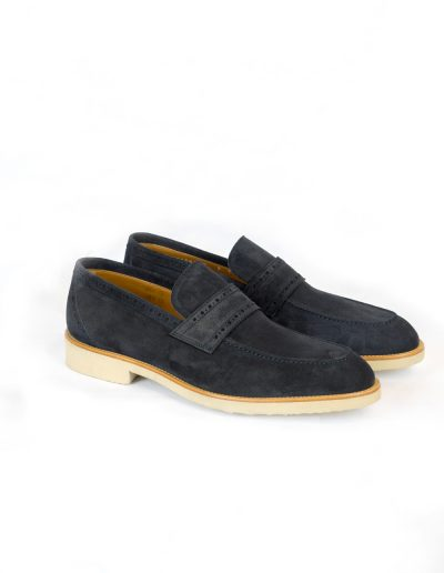 Blue Suede Loafers 4.400 SEK
