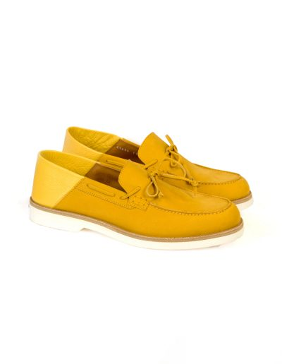 Yellow Nubuck Loafers 2.900 SEK