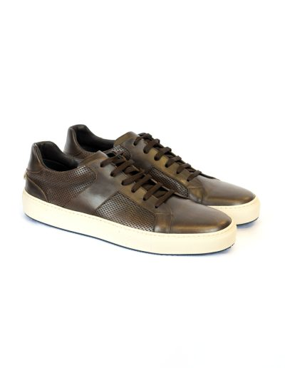 Sneaker Leather Brown