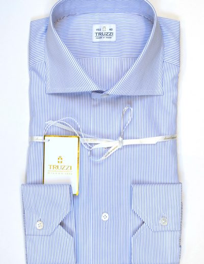 Blue/white Stripe Shirt 2.400