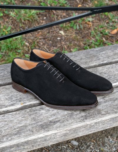 Berkeley - Whole cut Oxford Dk Brown Suede