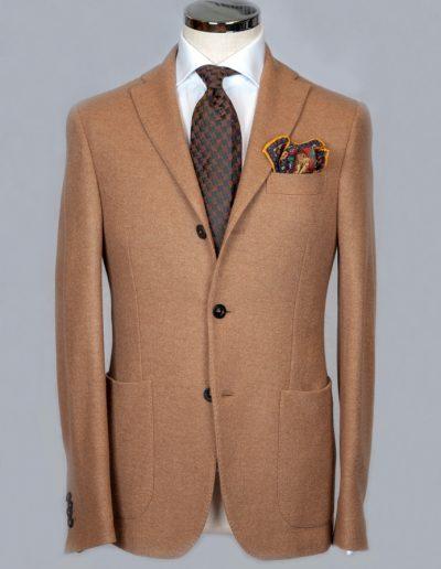 Camel Jersey Jacket