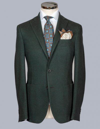 Houndstooth Green/Black Jacket