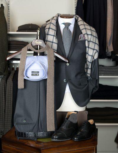 Corneliani grey suit